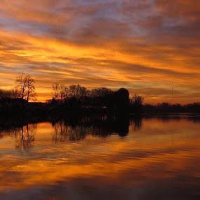 Golden hour by Karen Noble - Landscapes Sunsets & Sunrises (  )