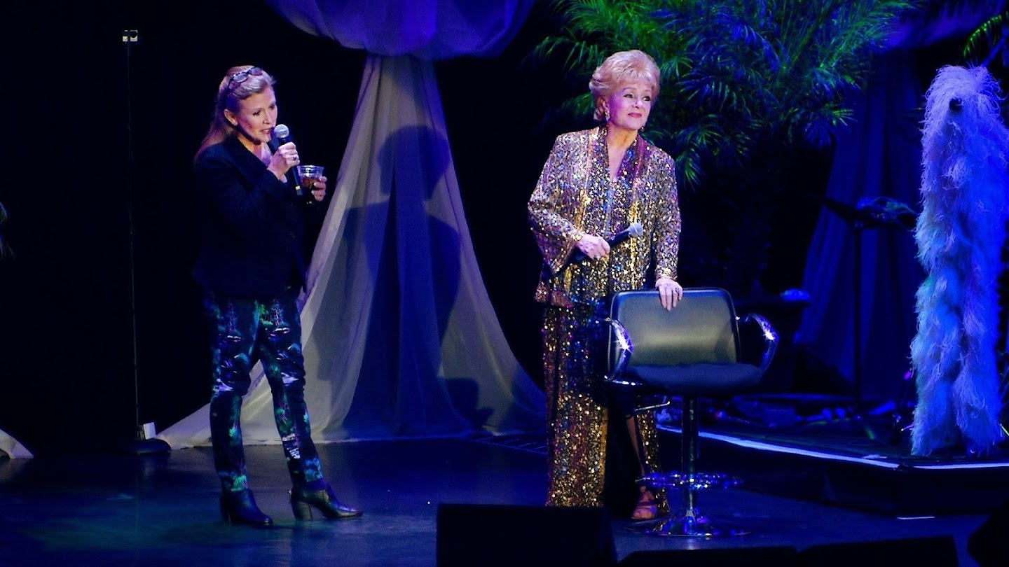Watch Bright Lights: Starring Carrie Fisher and Debbie Reynolds: Extras live
