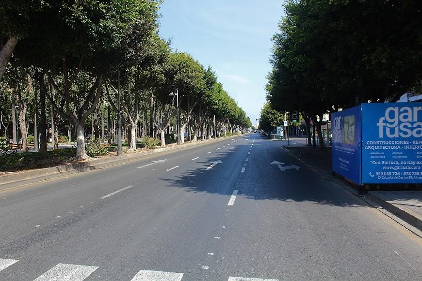 Avenida Federico García Lorca, la Rambla.