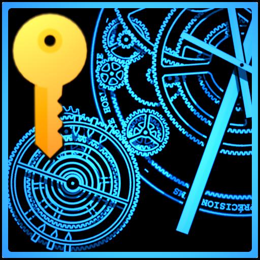 Clock Studio Live Wallpaper+