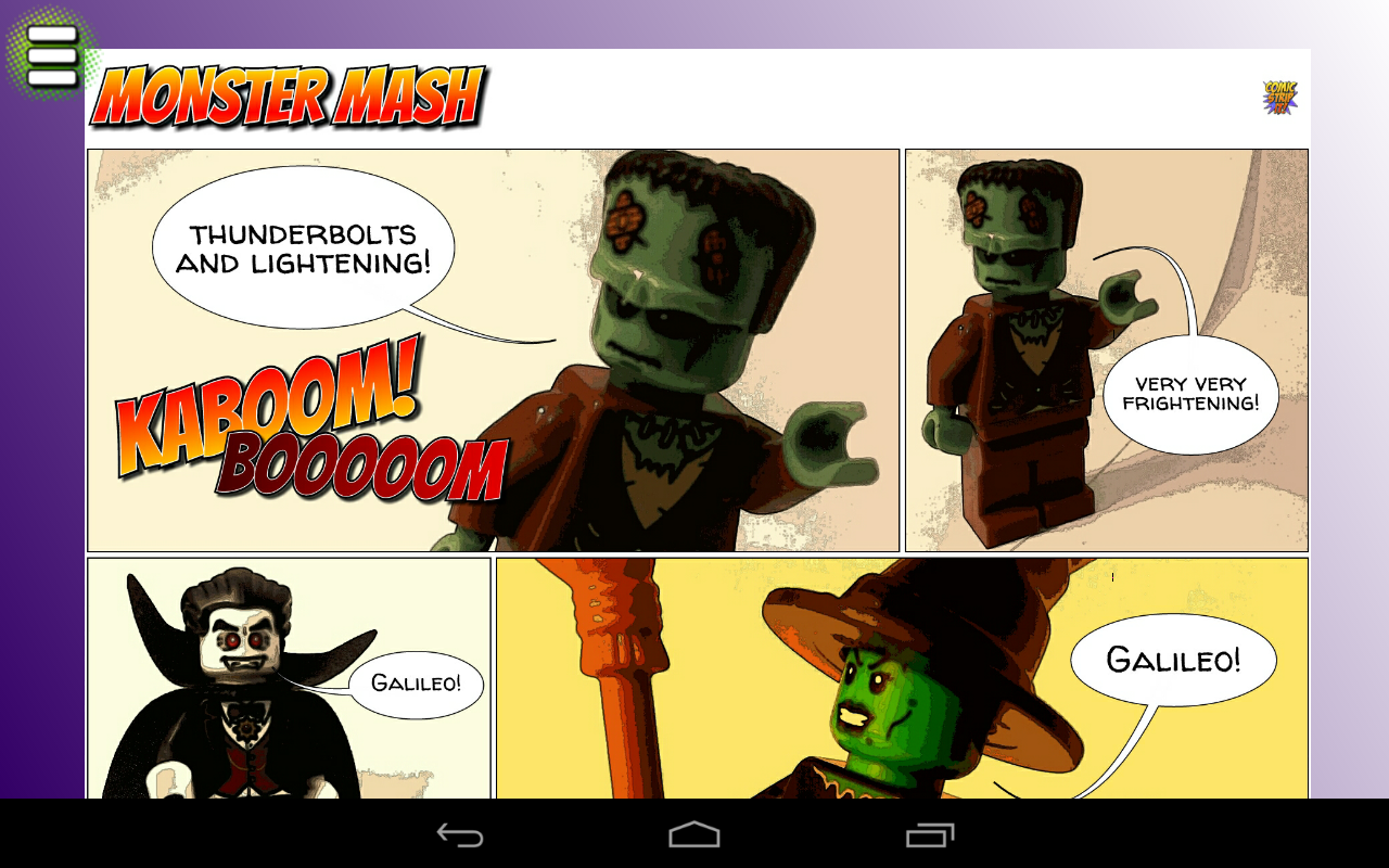 Comic Strip It! (lite): captura de pantalla