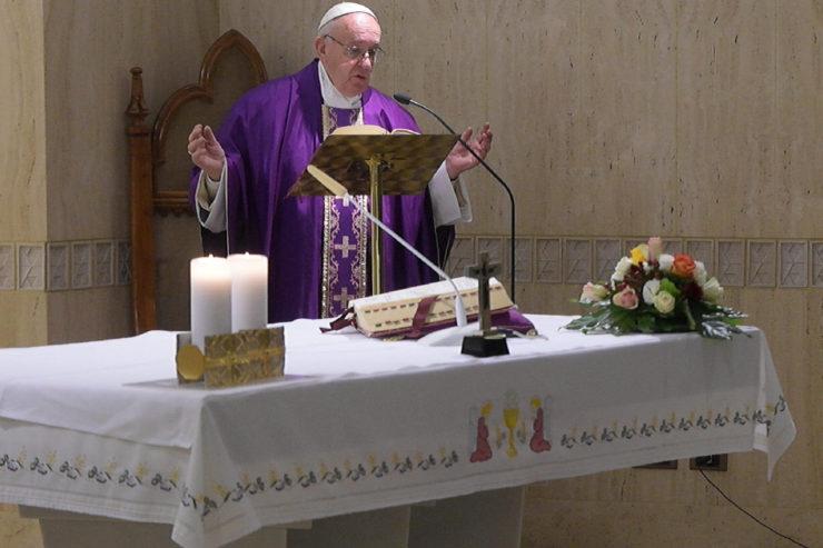 Bài giảng Lễ sáng của Đức Thánh Cha: Những Thượng tế từ chối Giu-đa thống hối ăn năn