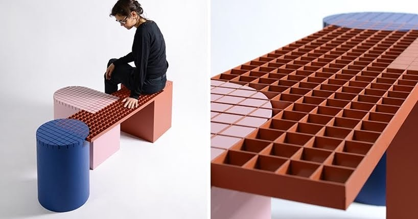 Las formas y los materiales de una ciudad inspiraron el diseño de Urban Shapes