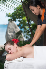 Photo: Nikoi Spa treatments are performed in 3 custom made safari tents beside the sea