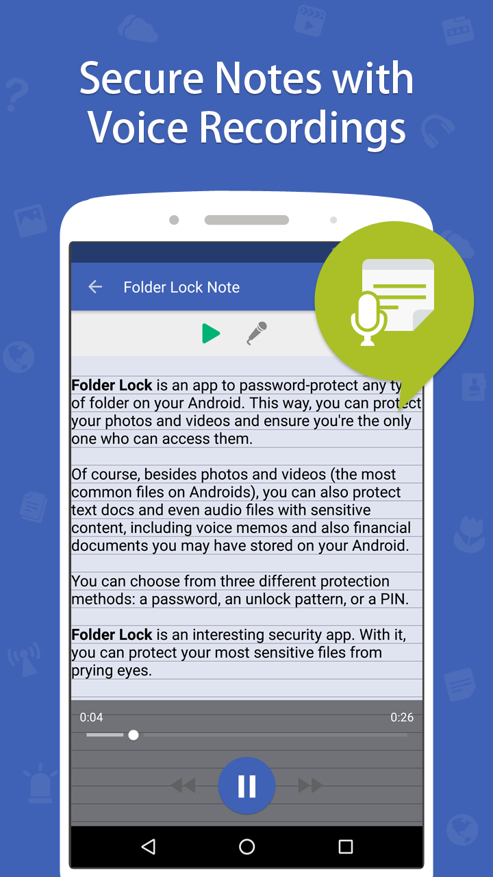 Folder Lock Pro Screenshot 5