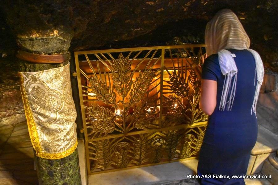 Придел Яслей. Храм Рождества Христова. Экскурсия в Вифлеем.