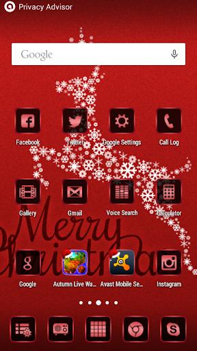 無料个人化Appのクリスマスランチャーとテーマ|記事Game