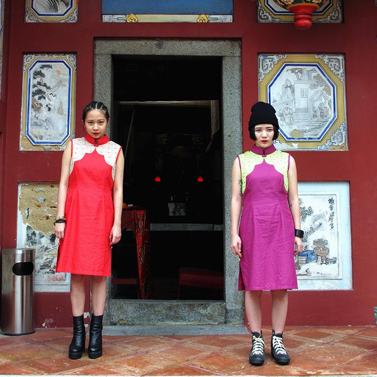 Yun Qipao Red Medium by STH Creative S/B