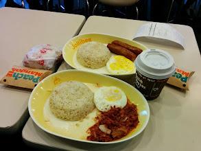 Photo: Jollibee breakfast!