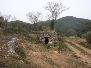 Photo: Barraca de pedra seca.