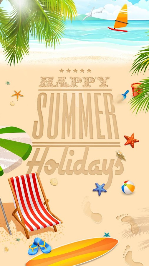 free go sms summer theme android apps on google play