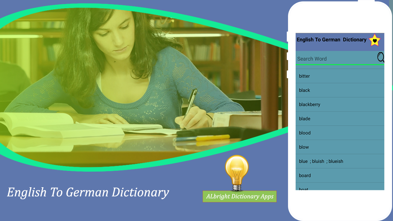 English to German Dictionary (offline-2019) – (Android Apps