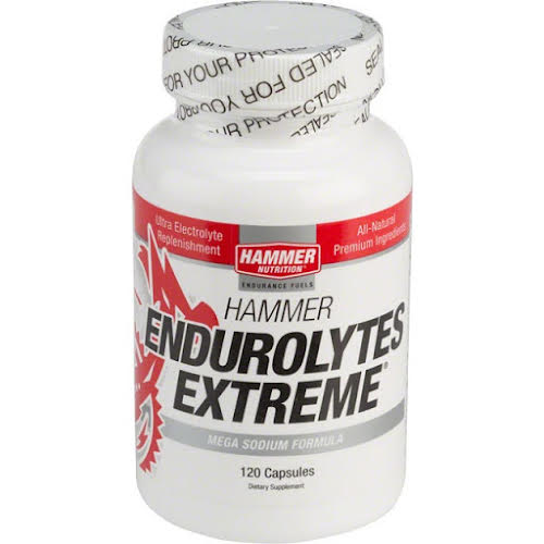 Hammer Nutrition Hammer Endurolytes Extreme: Bottle of 120