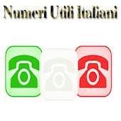 Numeri Utili Italiani