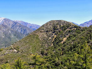 Photo: Sunset Peak Hike April 10, 2008 Had an enjoyable hike on this Sunday morning to Sunset Peak (5798') from Glendora Ridge Road (4340') in the Angeles National Forest. Total of about 7 miles with 1,500 feet in elevation gain. Visit my Sunset Peak hike description at Dan's Hiking Pages: http://www.simpsoncity.com/hiking/sunset.html