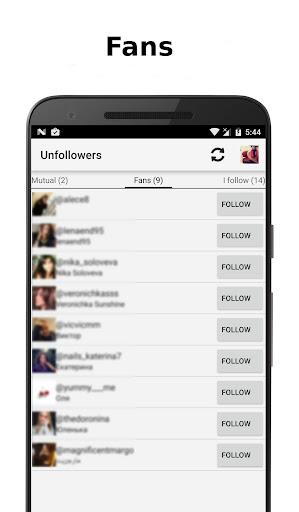 Unfollowers for Instagram 2.8.5 screenshots 5