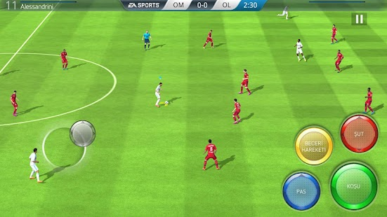 FIFA 16 Futbol Screenshot