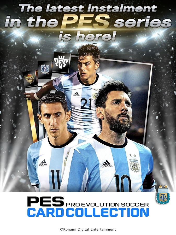 PES CARD COLLECTION: captura de pantalla
