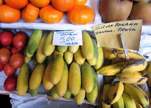 """Photo: Paikallinen mini""""banaani""""erikoisuus"""