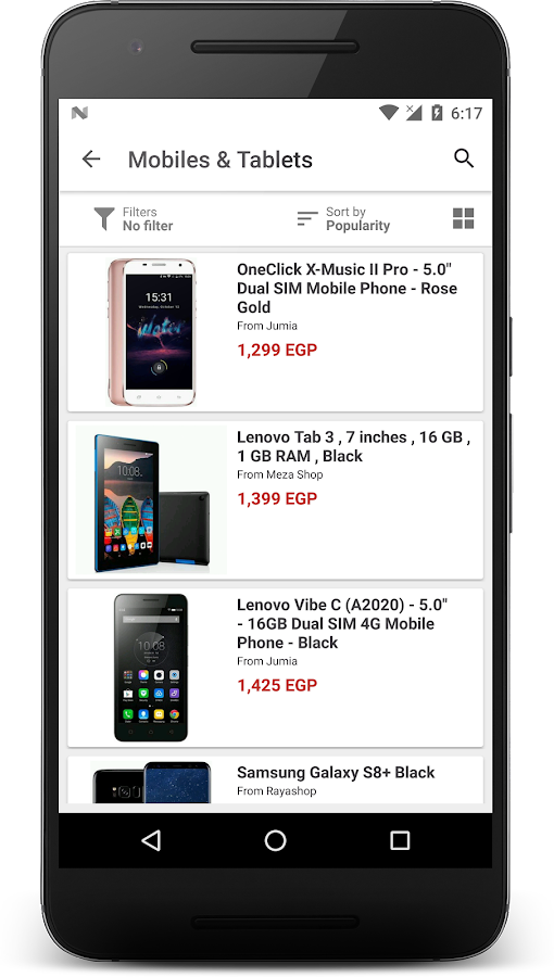 Yaoota - Comparison Shopping- screenshot