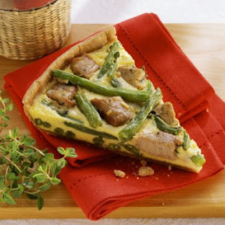 Pork and Egg Tart