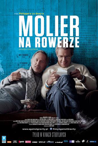 Przód ulotki filmu 'Molier Na Rowerze'