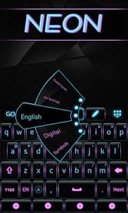 Neon-GO-Keyboard-Theme 2