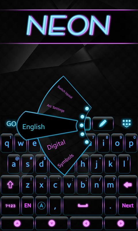 Neon-GO-Keyboard-Theme 9