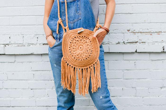 Street Fair Boho Purse Crochet Pattern