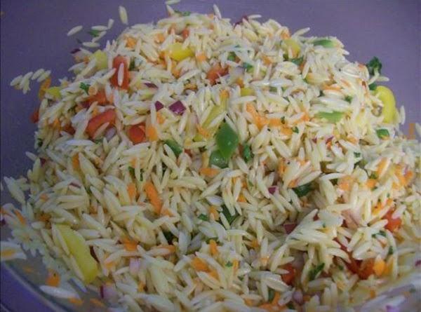 Confetti Orzo Salad Recipe