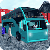 Offroad Tourist Snow Bus Drive