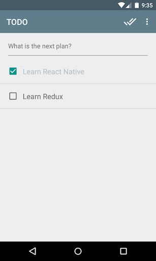 React Native Todo