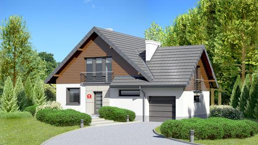 projekt Dom przy Cyprysowej 9