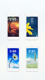 Pattern password - Pattern lock screen with emoji - náhled