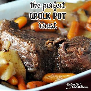 The Perfect Crock Pot Roast.