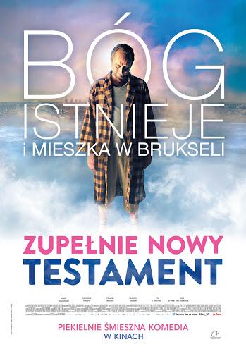 Polski plakat filmu 'Zupełnie Nowy Testament'