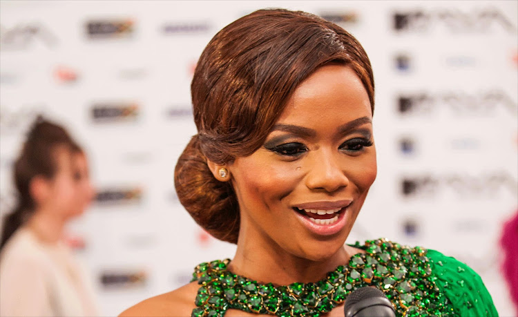 Media personality Bonang Matheba