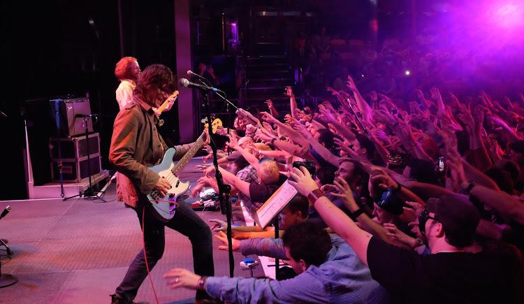 Pop singer-songwriter Jim Boggia performs at JoCo Cruise.