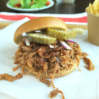 Easy Pulled Pork in the Oven or Crock Pot (+ Best BBQ Sauce).