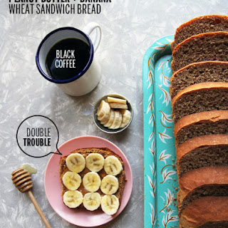 Peanut Butter and Banana Yeast Bread.