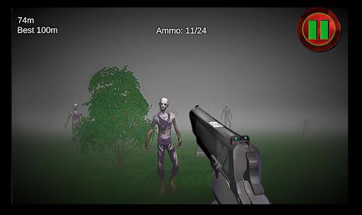ゾンビシューター:ミストストライカー 3D