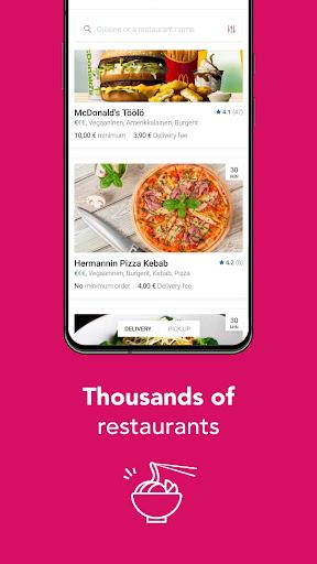 Foodora Finland 5.13.0 screenshots 2