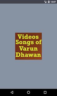 Videos Songs Of Varun Dhawan - náhled