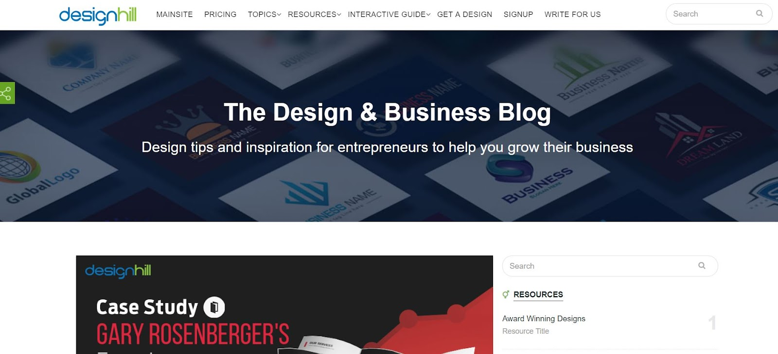 Designhill - Top Graphic Design Blogs