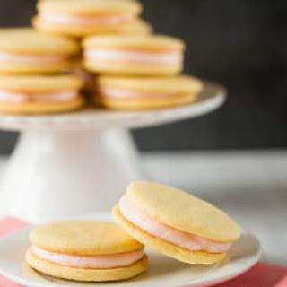 Pink Grapefruit Sandwich Cookies.