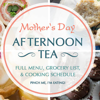 Mother's Day Afternoon Tea Menu.