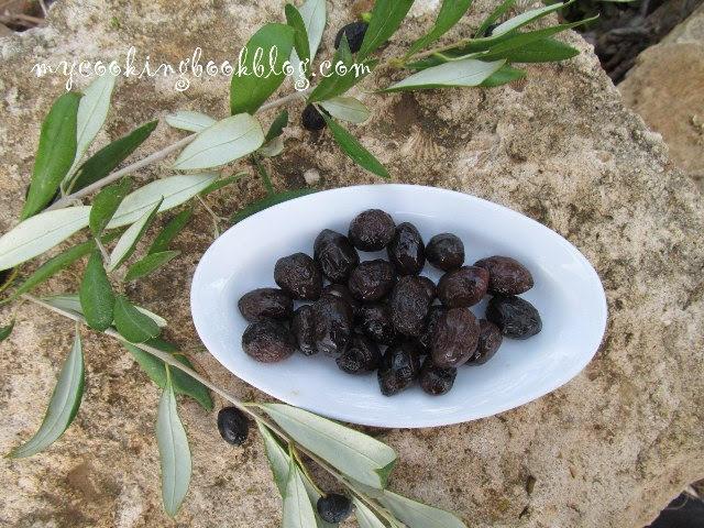 Как се правят солени черни маслини без саламура