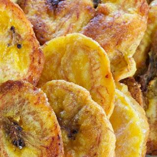 Baked Paleo Plantain Chips w/ Coconut Oil & Sea Salt (Vegan)
