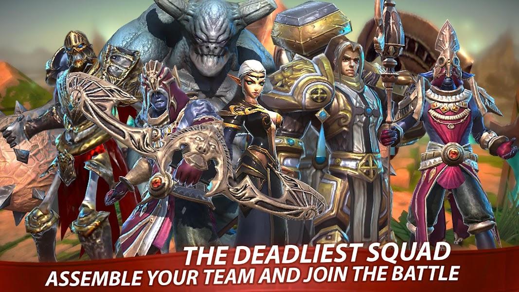 Heroes Forge: Turn-Based RPG & Strategy