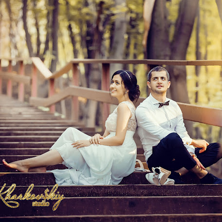 Fotógrafo de bodas Andrey Kharkovskiy (Kharkovskiy). Foto del 23.08.2016